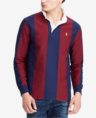 Polo Ralph Lauren Men's Big & Tall Iconic Cotton Rugby Shirt