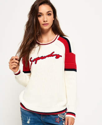 Superdry Preppy Blocked Knit Jumper