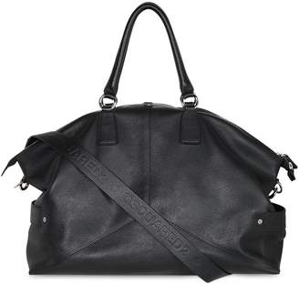 DSQUARED2 Leather Duffle Bag