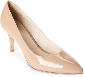 Cole Haan Maple Sugar Juliana Patent Leather Pointed Toe Pumps