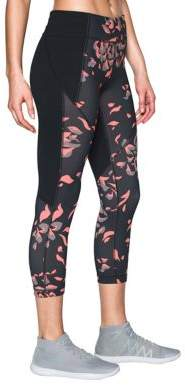 Under Armour Printed Banded-Waist Leggings