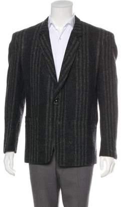 Gianni Versace Striped Wool Blazer wool Striped Wool Blazer