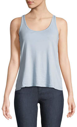 Johnny Was Classic Cotton-Blend Tank