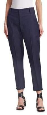 Etoile Isabel Marant Noah Virgin Wool Cropped Trousers