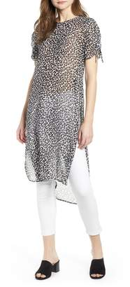 Vince Camuto Leopard Tunic