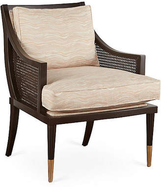 Michael Thomas Collection Kirkwood Accent Chair - Blush Marble