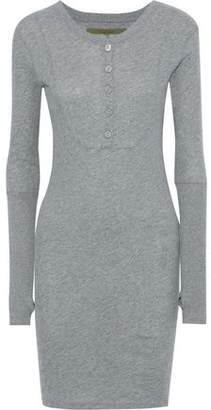 Enza Costa Cotton And Cashmere-Blend Jersey Mini Dress