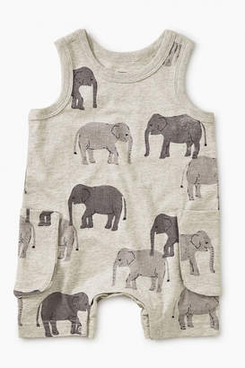 Tea Collection Patterned Tank Romper