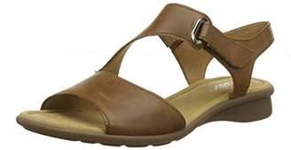 326c5318ab5 Gabor Women s Comfort Basic 26.063.54 Ankle Strap Sandals Brown (Peanut