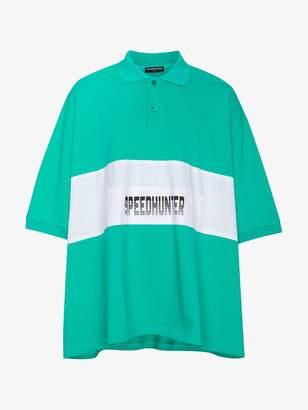 Balenciaga 'Speedhunter' Oversized Polo Shirt