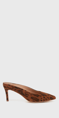 Daria Leopard Suede Stiletto Heel | FREE Shipping | Shop Pour La Victoire $245 thestylecure.com