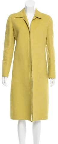Valentino Valentino Structured Long Coat
