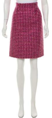 Marc Jacobs Tweed Pencil Skirt Pink Tweed Pencil Skirt