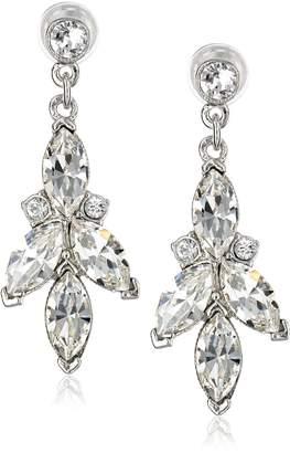 Michael Kors Ben-Amun Jewelry -Crystal Three-Point Drop Earrings