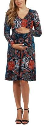 24/7 Comfort Apparel Brentwood Maternity Dress-- available in Plus sizes