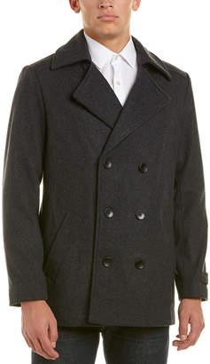 Ike Behar Abrams Wool-Blend Coat