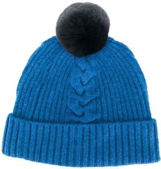 d633bd19f Womens Blue Bobble Hat - ShopStyle UK