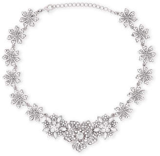 Nina Silver-Tone Floral Necklace