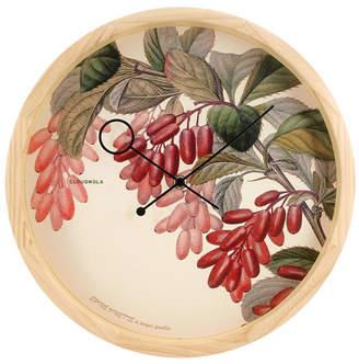 Cloudnola Botanical Epine Vinette Wall Clock