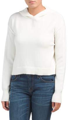 Juniors Long Sleeve Hoodie Sweater