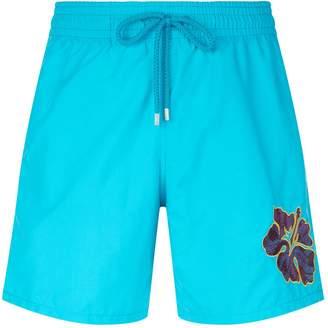 Vilebrequin Motu Hibiscus Swim Shorts