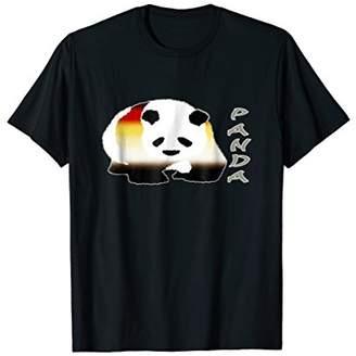 Mens Gay Pride Panda Bears T-Shirt Asian Bear Flag Tshirt Gear