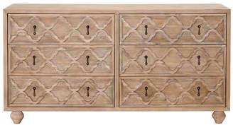 One Kings Lane Masha Double Dresser - Stonewash