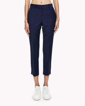 Light Wool Slim Crop Pant $315 thestylecure.com
