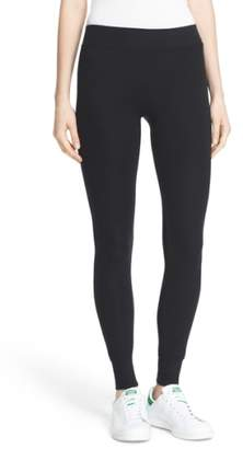 ATM Anthony Thomas Melillo Rib Knit Yoga Leggings