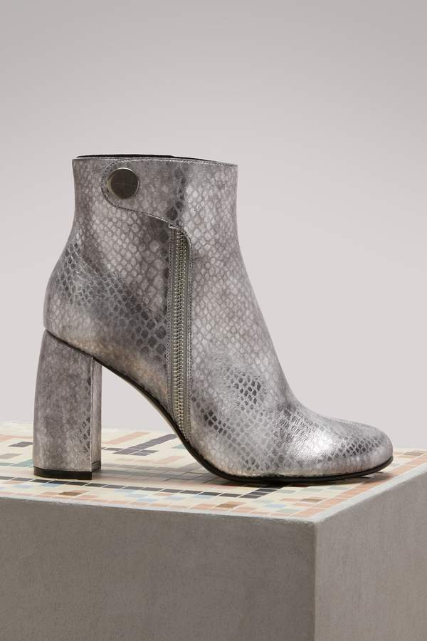 Stella Mccartney Alter snake ankle boots