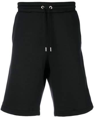 Moncler logo trim track shorts
