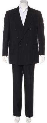 Burberry Vintage Striped Double-Breasted Suit