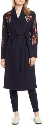 Ted Baker Embroidered Coat