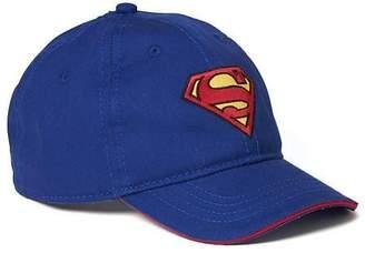5dfb2e37872 Old Navy DC Comics Superman Baseball Cap for Toddler Boys