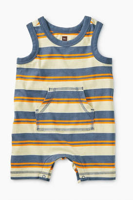 Tea Collection Striped Tank Romper