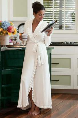Soft Surroundings Ruffled Chenille Robe II