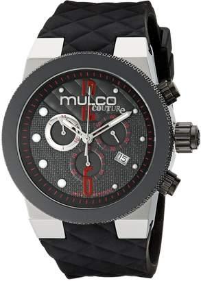 Mulco Men's MW5-2552-025 Couture Analog Display Swiss Quartz Watch