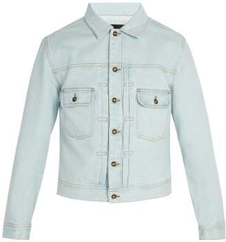 Saturdays NYC Ray bleached denim jacket