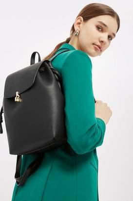 Topshop Lucy Metal Bar Backpack