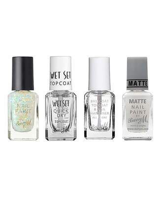 Barry M Nail Effects Topcoat Bundle
