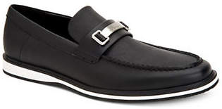 Calvin Klein Wheeler Slip-On Leather Loafers