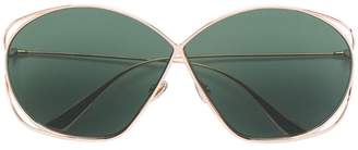 Christian Dior oversized tinted lens sunglasses