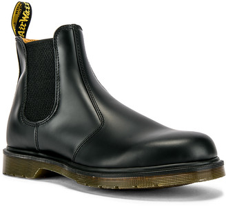 Dr. Martens 2976 Smooth Boot in Black | FWRD