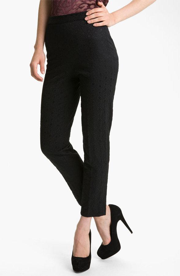 Robert Rodriguez Crop Jacquard Pants