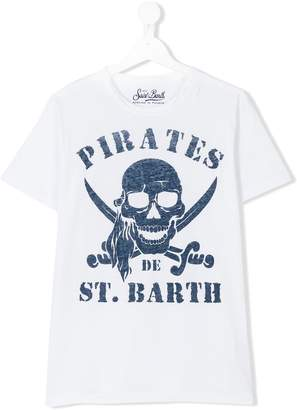 MC2 Saint Barth Kids teen pirate motif t-shirt