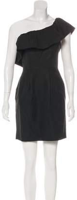 Rebecca Taylor One-Shoulder Mini Dress w/ Tags
