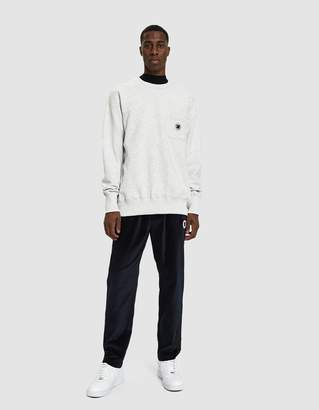 Leon Aimé Dore Pocket Crewneck Sweatshirt in Grey Mix
