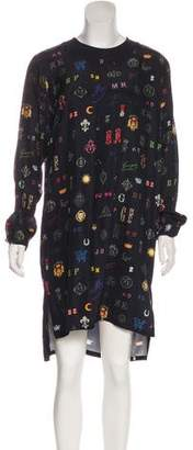 Stella McCartney Silk Printed Dress