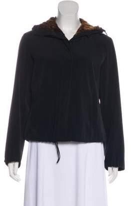 Giorgio Armani Hooded Long Sleeve Jacket