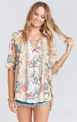 Show Me Your Mumu Tennessee Tunic ~ Bloomtastic Stripe